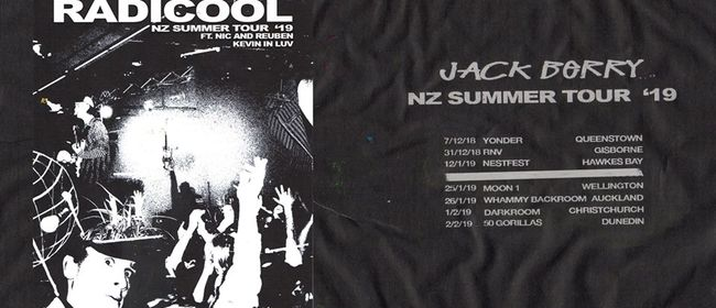 Jack Berry - Radicool Tour
