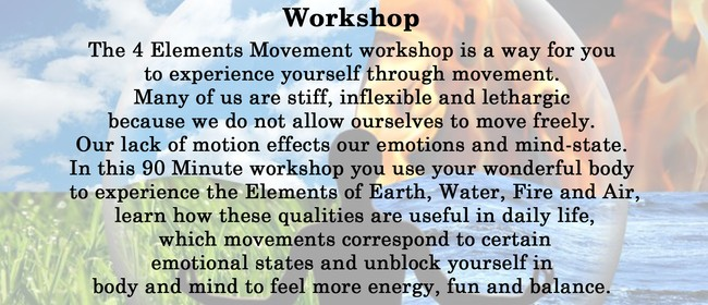 The Four Elements of Nature Workshop
