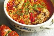 Borshch: nutritional Eastern European food.