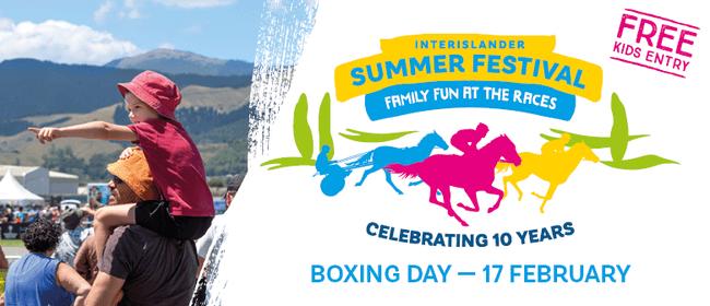 Interislander Summer Festival - Tauherenikau Races