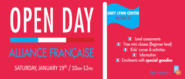 Open Day - Alliance Française