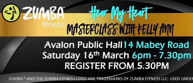 Hear My Heart Zumba Masterclass with Zin - Kelly Ann Nikara