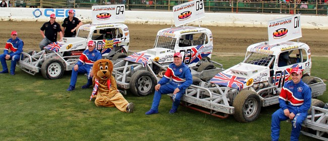 SuperStock Teams vs G. Britain & Stockcar Best Pairs