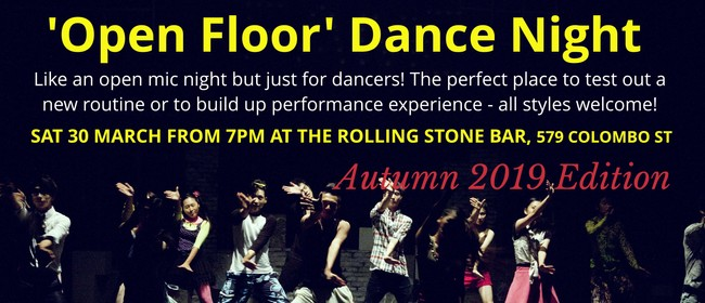 Open Floor Dance Night - Autumn Edition