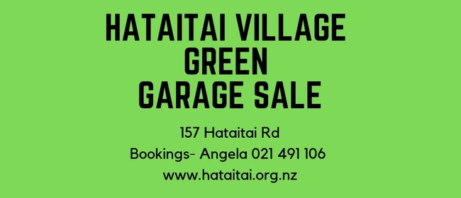 Hataitai Village Garage Sale and Market