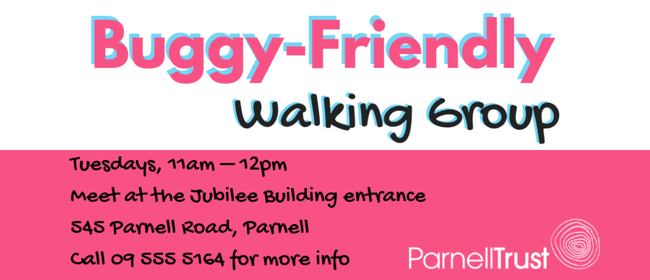 Buggy Friendly Walking Group - Parnell Community Centre