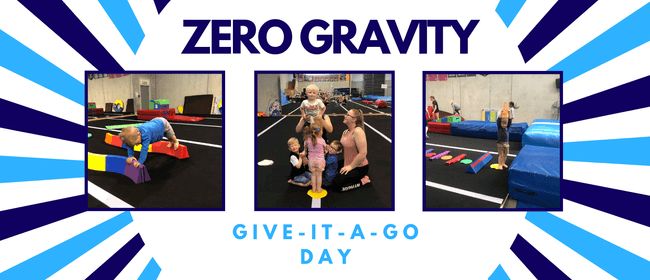 3-4yrs Give It a Go Day - Zero Gravity Cheerleading