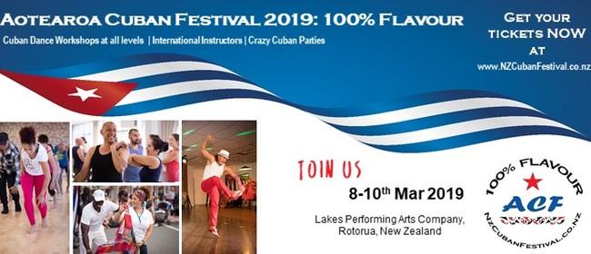 ACF19: 100% Flavour Aotearoa Cuban Festival 2019