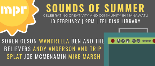 Sounds of Summer 2019: Feilding Library