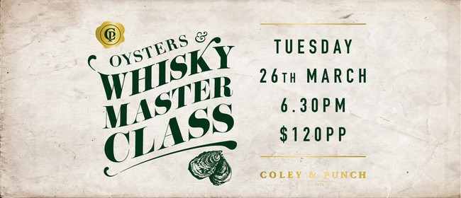 Oyster and Whisky Masterclass