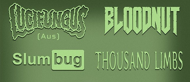 Lucifungus with Bloodnut, Slumbug & Thousand Lim