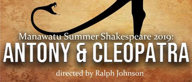 Manawatu Summer Shakespeare 2019: Antony & Cleopatra