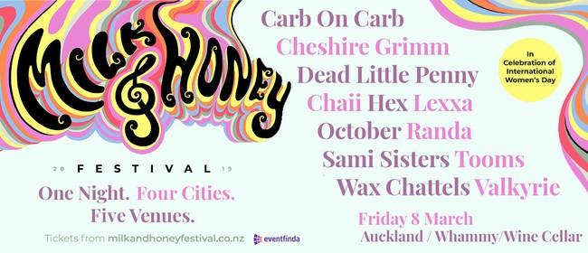 Milk and Honey Festival - Auckland/Whammy bar & Wine Cellar