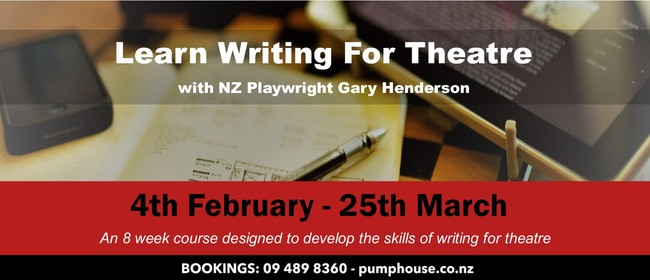 Learn Writing for Theatre