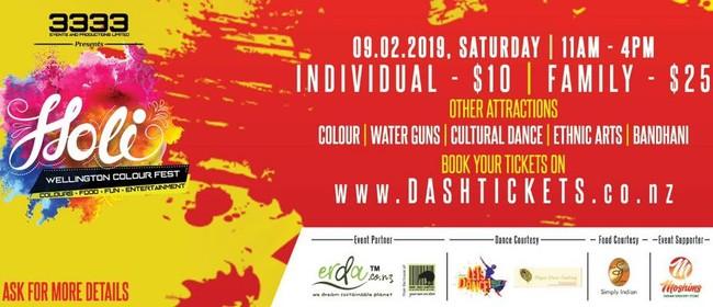 Holi Wellington Colour Fest 2019