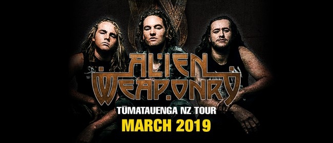 Alien Weaponry - New Zealand Tour