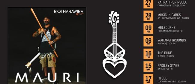 Riqi Harawira Album Release Tour