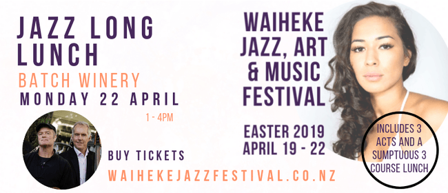 Waiheke Jazz, Art & Music Festival - Jazz Long Lunch