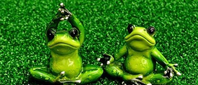 Funny Frog Yoga
