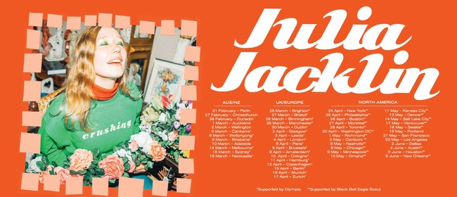 Julia Jacklin - Crushing Album Release Tour