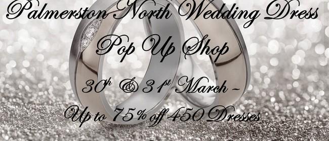 Palmerston North Wedding Dress Pop Up Shop
