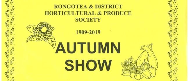 Rongotea Horticultural Autumn Show