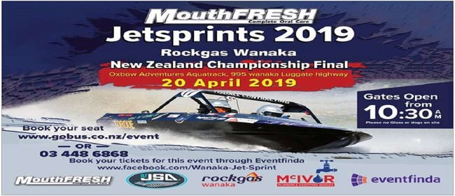 2019 Mouthfresh  NZ Jet Sprint Championship - Final