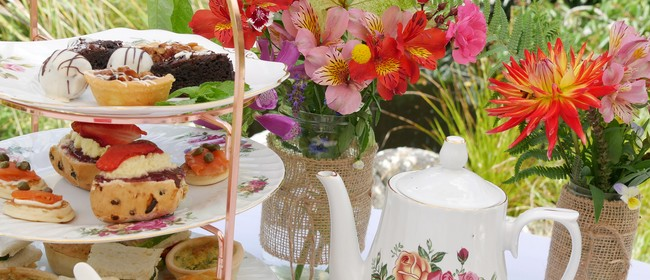 High Tea In an English Country Garden