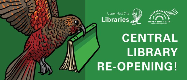 Upper Hutt Central Library Re-opening