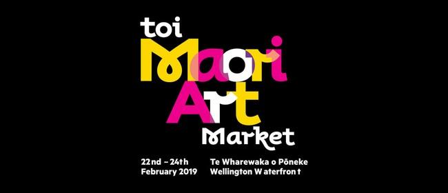 Toi Māori Art Market 2019