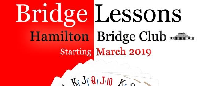Tuesday Evening Bridge Lessons