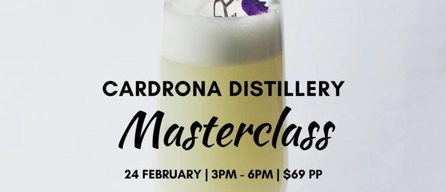 Cardrona Distillery Masterclass