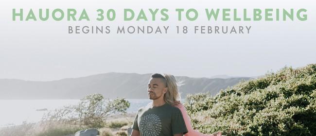 Hauora - 30 Days to Wellbeing