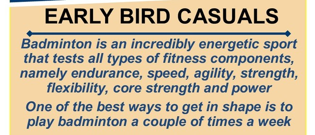 Early Bird Casuals