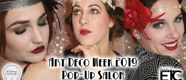 Art Deco Week - Pop Up Salon!