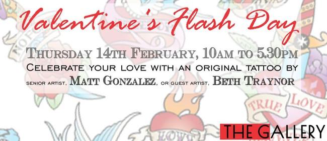 Valentine's Tattoo Flash Day