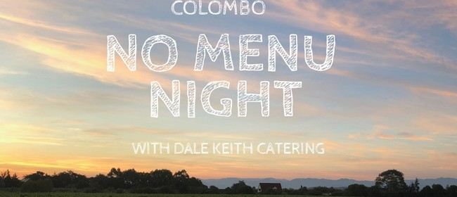 Colombo No Menu Night