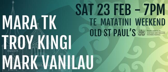 Troy Kingi, Mara TK and Mark Vanilau: Live In Concert