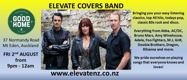 Elevate Trio Covers Band: CANCELLED