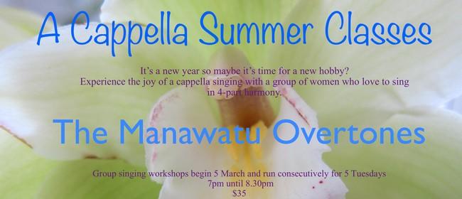 A Cappella Summer Classes