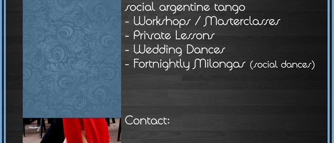 Argentine Tango Lessons - Tuesday Classes