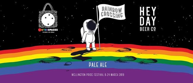 Rainbow Crossing Wellington Pride Beer Launch