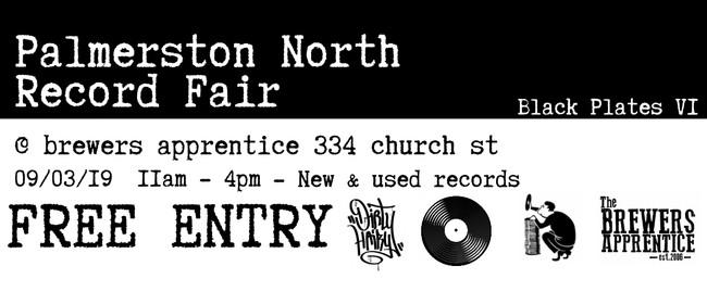 Black Plates VI - Palmerston North Record Fair