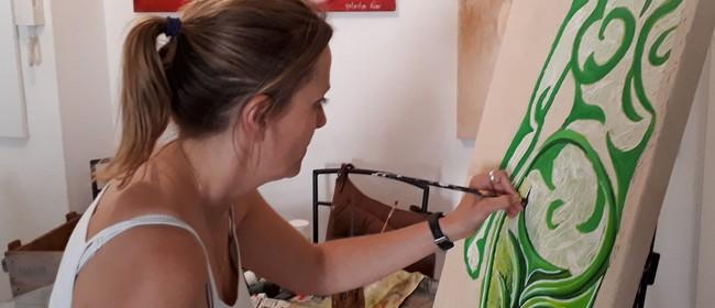 Natacha Riou; An Exhibition of Mixed Media