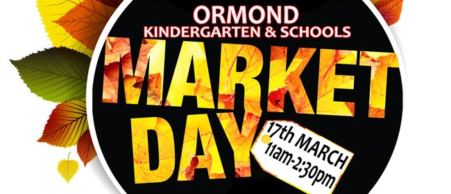 Ormond Kindergarten and Schools Market Day