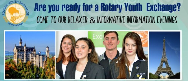 Rotary Youth Exchange Information Evening
