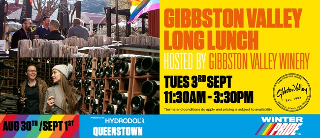 Gibbston Valley Long Lunch, hosted by Gibbston Valley Winery
