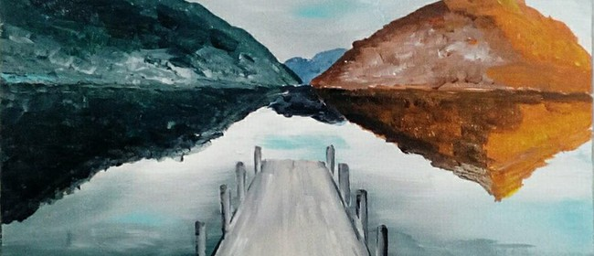 Paint and Wine Night - The Wharf - Paintvine