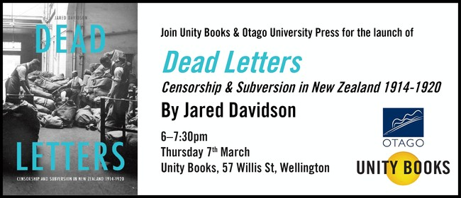 Launch - Dead Letters by Jared Davidson