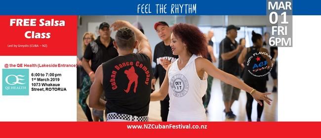 Salsa Class - Aotearoa Cuban Festival 2019